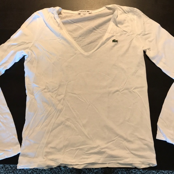 Lacoste Tops - LaCoste long sleeve shirt Size 38 (M)